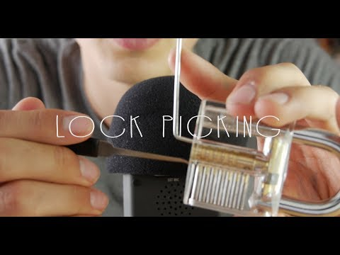 ASMR | Lock Picking (Binaural, 4K)