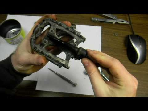 How to Take Apart and Repair Pedals on a Bicycle (Part 1)