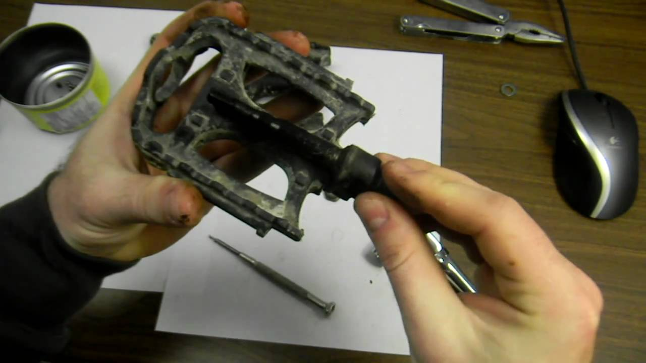How To Take Apart And Repair Pedals On A Bicycle Part 1 Youtube Bmx Bike Parts Diagram