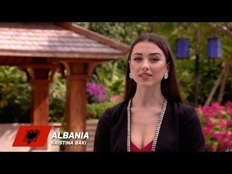MW2015 : ALBANIA, Kristina Baki - Contestant Profile