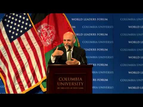 His Excellency Dr. Mohammad Ashraf Ghani, President of the Islamic Republic of Afghanistan