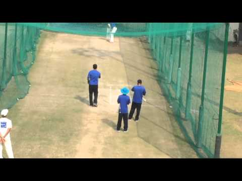 Batting practice by LOKESH RahuL