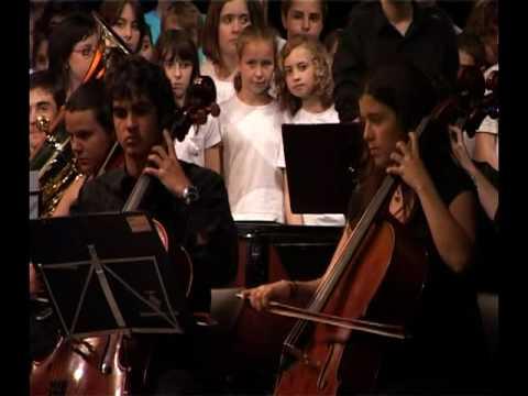 Cantata La cançó més bonica del món (1/8) - La Paeria - Ajuntament de Lleida