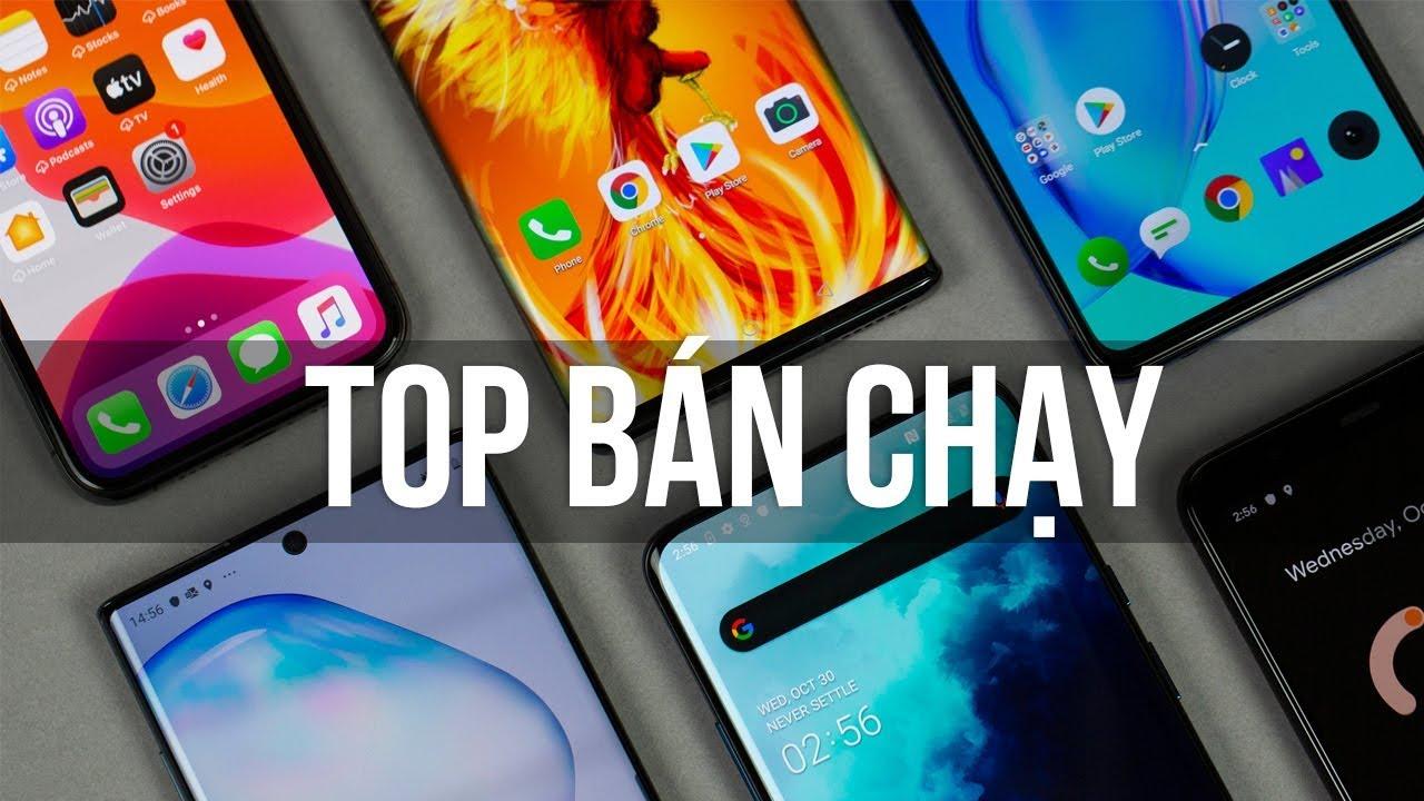 Những điện thoại bán chạy nhất cuối năm 2019