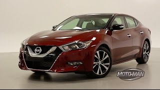 2016 Nissan Maxima TECH REVIEW – WORLD PREMIERE