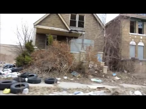 DETROIT'S FILTHIEST GHETTOS - A MUST SEE