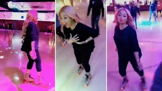 Blac Chyna Goes Rollerskating With Rob Kardashian | FULL VIDEO