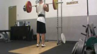 140kg Push Press, 100kg Military Press