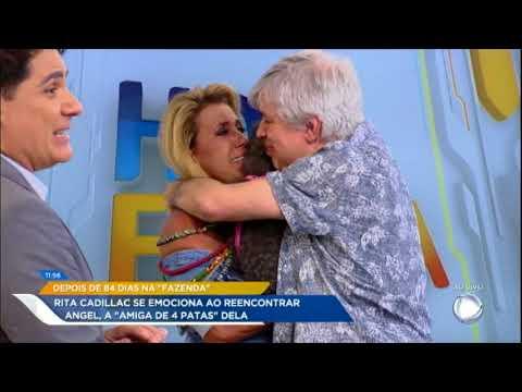 Rita Se Emociona Ao Reencontrar Angel, Sua Melhor Amiga De Quatro Patas, No Hoje Em Dia