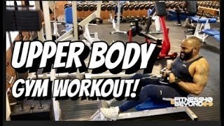 Upper Body Gym workout with the squad - Fighting Cancer with fitness