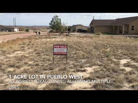 1 acre of land in Pueblo West with utilities