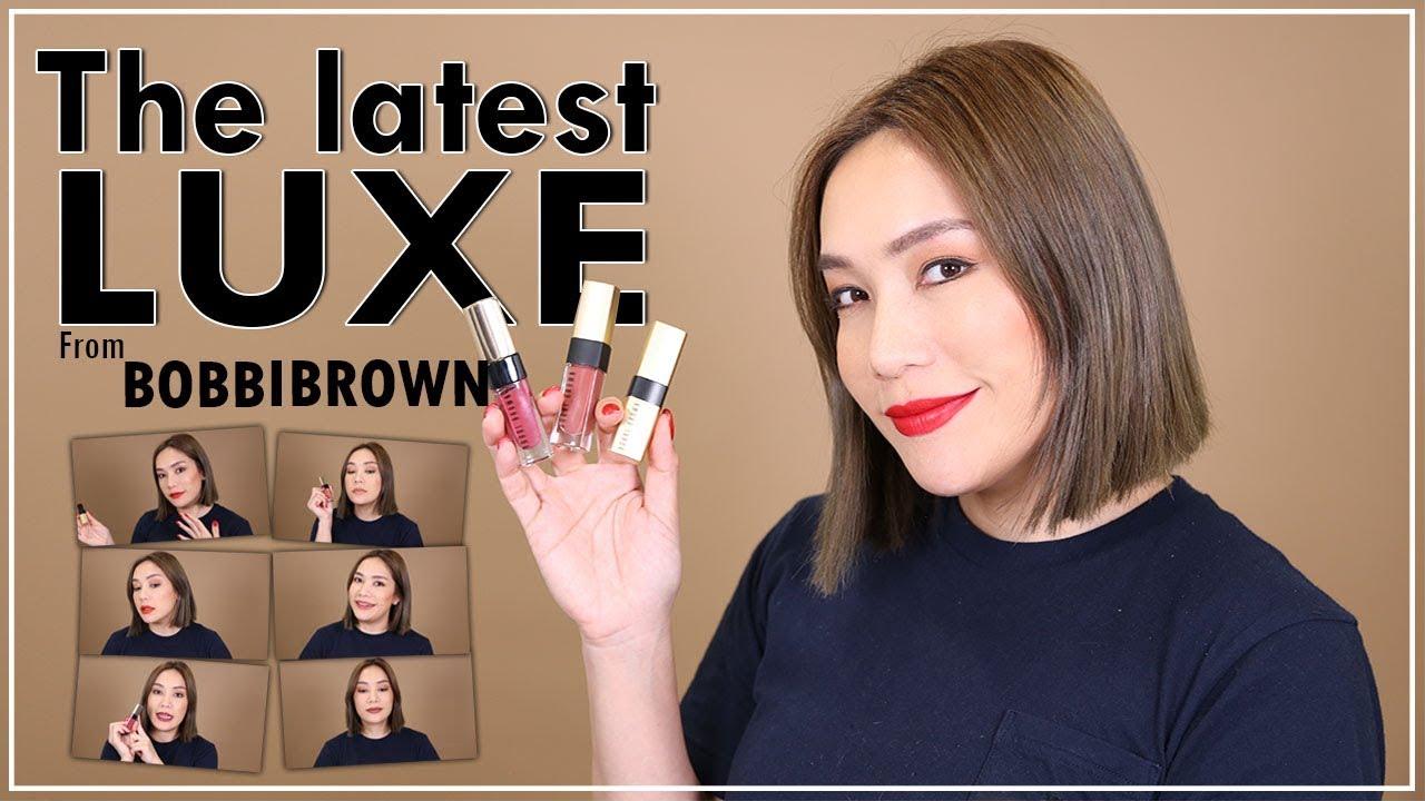 DAILYCHERIE : รีวิว LUXE Lips จาก BOBBIBROWN สีไหนทาแล้วสวยสุด