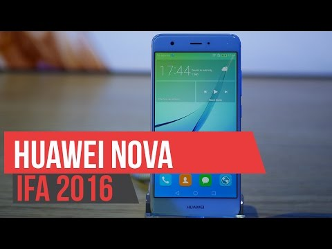 Huawei Nova - Hands On IFA 2016