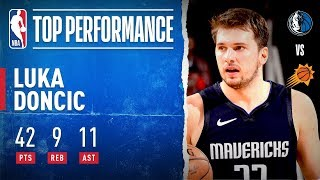 Luka Doncic Pours In 42 PTS, Leads Mavs!