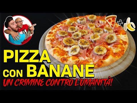 Una PIZZA con le BANANE! Assaggiamo la SWEDISH PIZZA!