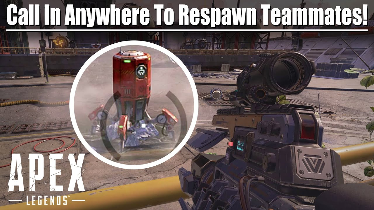 The Mobile Respawn Beacons are Awesome! - Apex Legends: Season 5