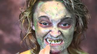 Zombie Teeth Paint Tutorial by Scarecrow Inc.