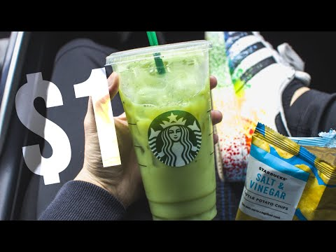 STARBUCKS HACK: $1 DRINK