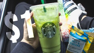 starbucks workers pick drinks