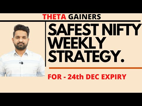 Safest Weekly Option Selling Strategy | Theta Gainers | Expiry 24th December 2020
