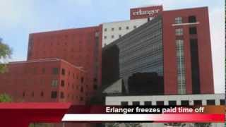Erlanger freezes paid time off for 4,000 employees