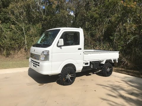 2013 Daihatsu Hijet Ext Farming Package Street Legal Mini