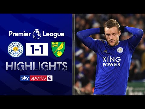 Foxes' win streak ends against Canaries | Leicester 1-1 Norwich | Premier League Highlights