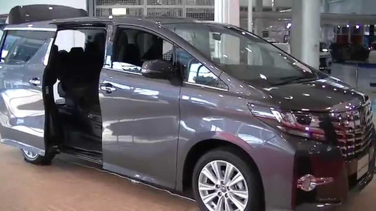 新型アルファード!展示車の外装と内装を撮影しました。2.5l S Aパッケージ 7人乗り 370万円 New