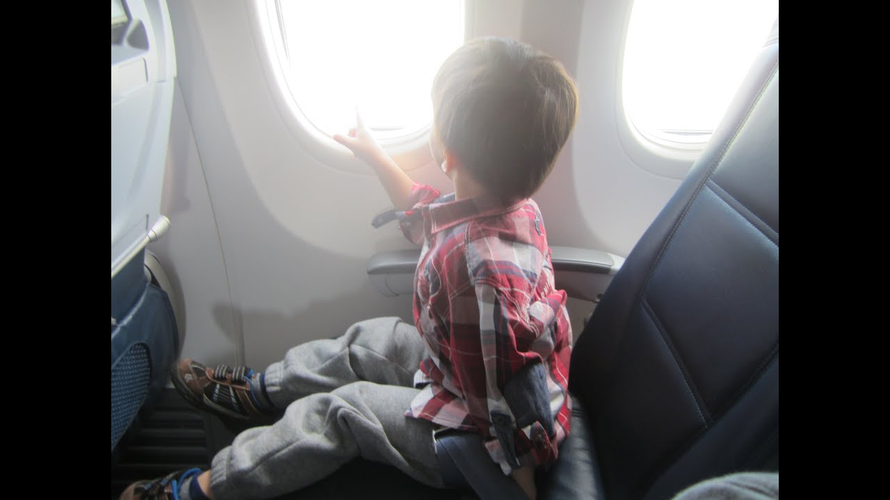how to ride a plane for the first time