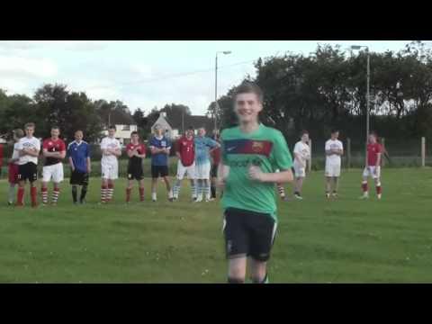 Ballymena Utd U16s Crossbar Challenge 2011