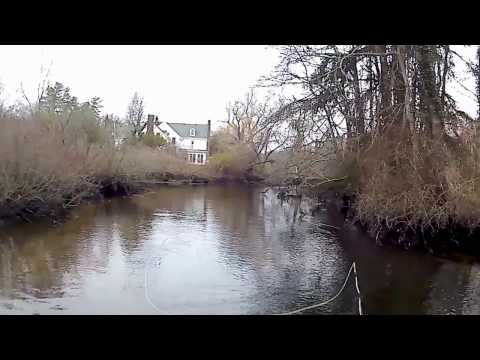 Winter Time Fly Fishing Long Island, NY Nissequogue River 12/26/16