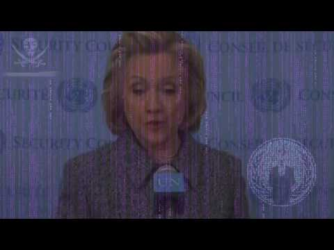 Anonymous   Message to Hillary Clinton