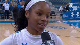 UCLA women's basketball star Japreece Dean on career-high night: 'I know that I have to lead and...