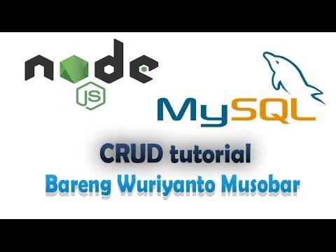 RESTful API dengan Node JS, Express Js, dan MySql Database