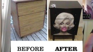 Marilyn Monroe Dresser - How to Make