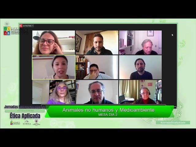 EN VIVO - JORNADAS INTERNACIONALES DE ÉTICA APLICADA