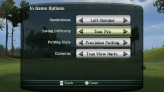 Tiger Woods PGA Tour 11 (Wii) Tutorial Video