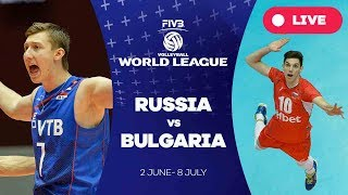 Russia v Bulgaria - Group 1: 2017 FIVB Volleyball World League
