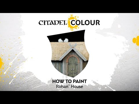 How to Paint: Rohan House