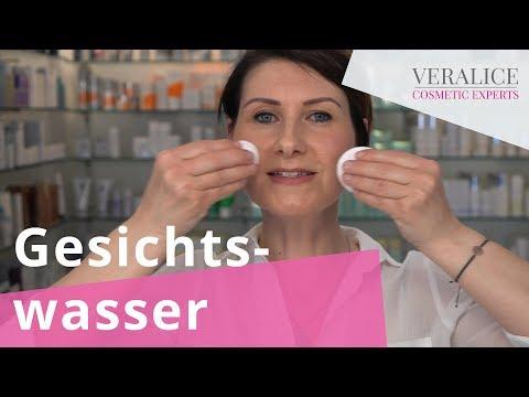 Gesichtswasser - der Alleskönner für mehr Wirkung (Anwendung) I VERALICE