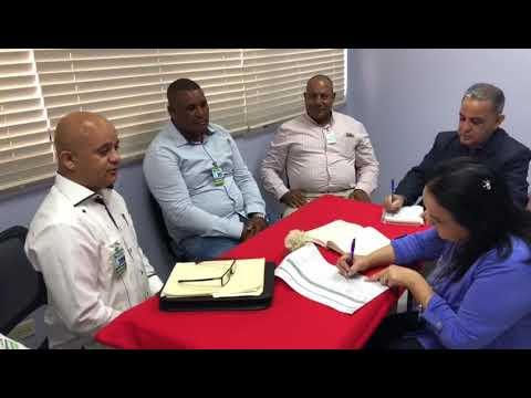 Fundacion Doña rosa y comisión de sabana Grande visitan salud pública en busca de soluciones