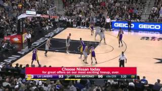 Los Angeles Lakers vs San Antonio Spurs | February 6, 2016 | NBA 2015-16 Season