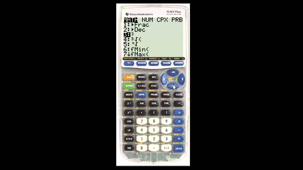 How to get cube root in calculator