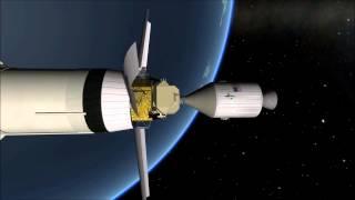 Kerbal Space Program - The Apollo 11 mission
