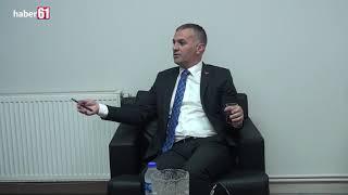 Yomra Belediye Başkanı Mustafa Bıyık Haber61'i ziyaret etti