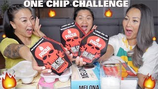 PAQUI ONE CHIP CHALLENGE *Worlds HOTTEST Chips FAMILY EDITION | SASVlogs