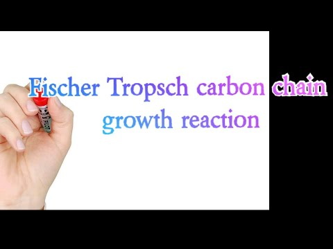 Fischer Tropsch Carbon Chain Growth Reaction
