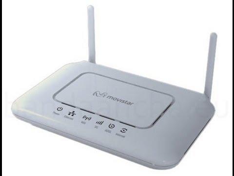 como saber la contraseña activar wify moden router telefonica movistar