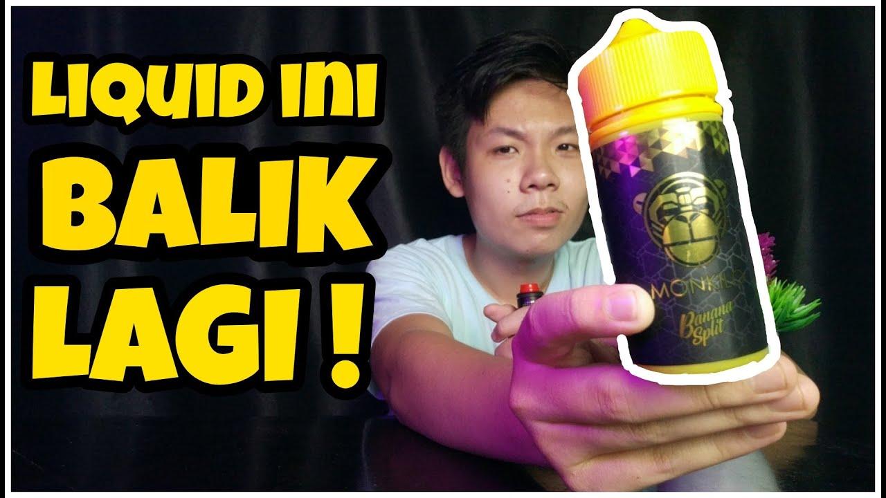 Download MONKILO LIQUID BALIK LAGI    LIQUID PISANG PALING UNIK !!