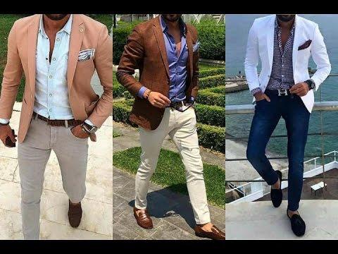 Hombres bien vestidos casual